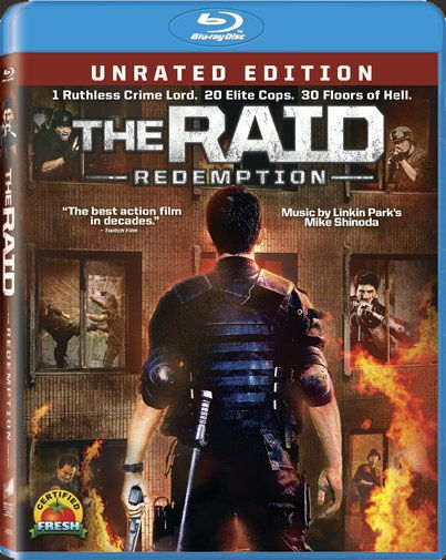 the raid redemption blu ray SR Giveaway   Win The Raid: Redemption on Blu ray