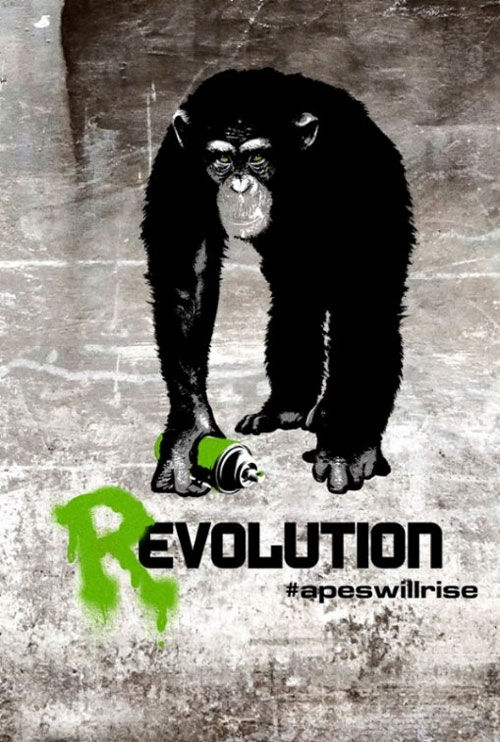 The Rise of the Planet of the Apes Movie Poster