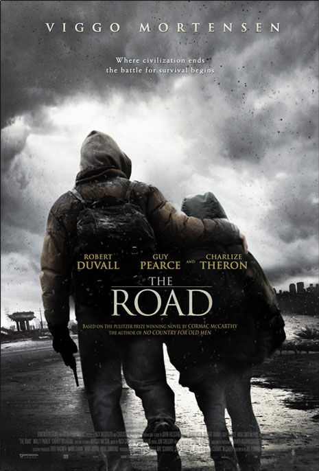 the road poster robert duvall guy pearce charlize theron New Posters: The Road, 2012, Where The Wild Things Are & More!