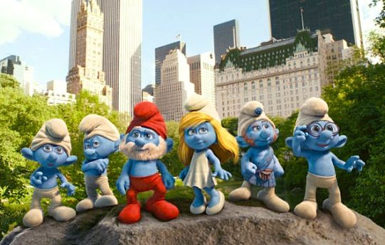 the smurfs in 3d trailer debuts Interview: Neil Patrick Harris Talks The Smurfs & Geek Love