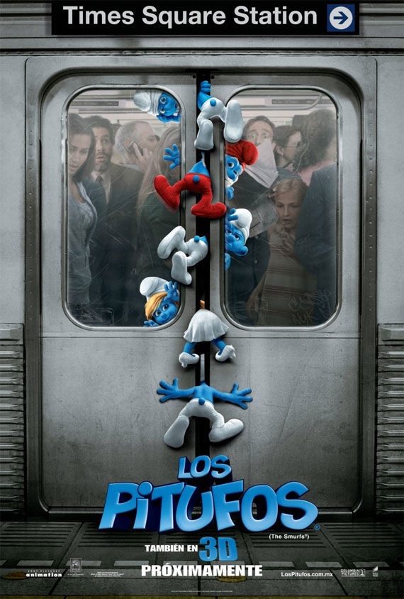 the smurfs poster1 Movie Poster Roundup: Fast Five, Thor, X Men: First Class & More