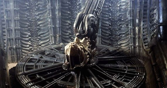 the space jockey from alien Prometheus Hi Res Viral Image Reveals Epic Space Map