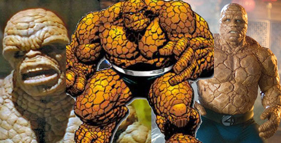 the thing suits Completely CGI Thing Confirmed for Fantastic Four Reboot
