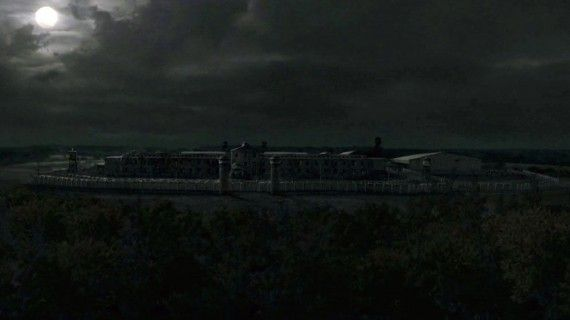 the walking dead season 3 prison scene 570x320 The Walking Dead Season 3 Details Revealed