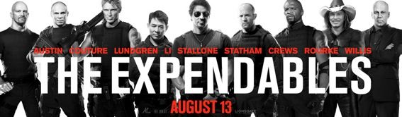 the expendables banner New Action Packed Expendables TV Spot