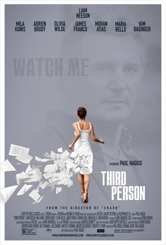 third person 691x1024 Third Person Trailer: Everything is Connected to Liam Neeson