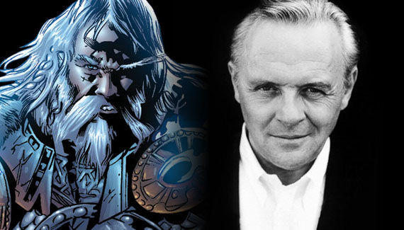 thor anthony hopkins as odin Sir Anthony Hopkins Cast as Odin in Thor!?