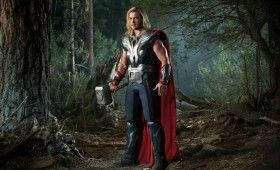 thor avengers 280x170 The Avengers: Helicarrier Images & Captain America Costume Talk