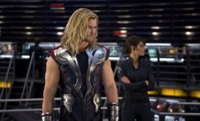 thor avengers1 280x170 The Avengers: Chris Hemsworth Interview and New Photo Gallery