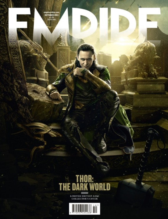 thor dark world cover loki 570x739 Thor: The Dark World Loki Cover #2