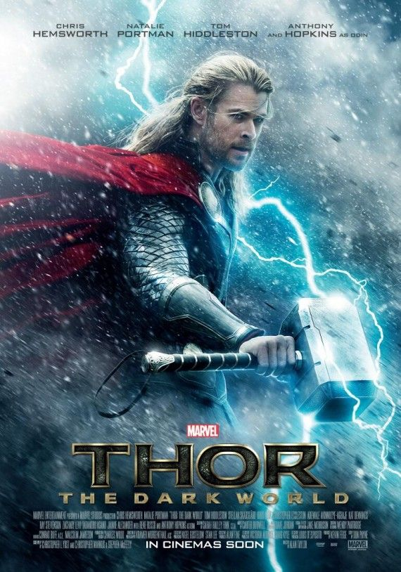 thor dark world poster 570x814 Thor: The Dark World Poster