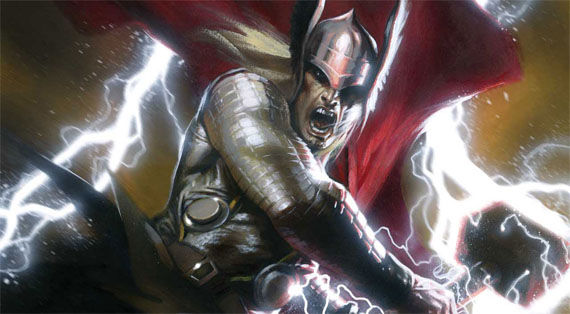 thor header Joe Quesada Raises Expectations for Thor Movie