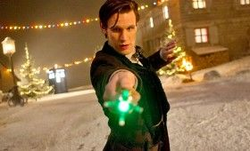 time of the doctor sonic 280x170 Doctor Who Christmas Special Poster & Sneak Peek Images