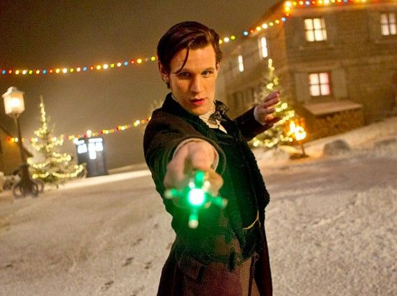 time of the doctor sonic 570x426 Doctor and the Sonic Screwdriver in the Christmas Episode