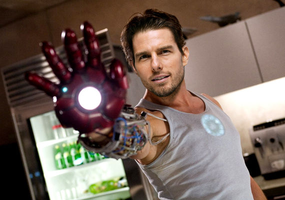 tom cruise ironman 1 Dodged Bullets: 14 Actors Who Were Almost Superheroes