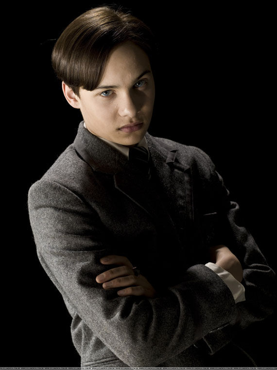 Frank Dillane as teenage Tom Riddle/Lord Voldemort