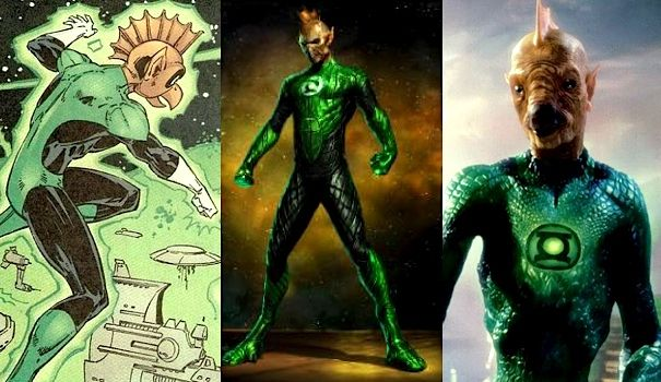 tomar re in green lantern movie Geoff Johns Shows Off The Green Lantern Known as Tomar Re