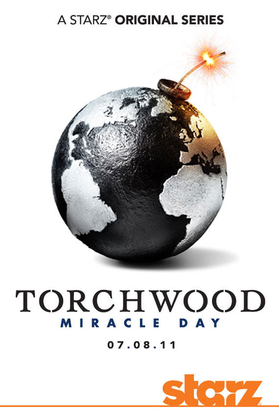 torchwood miracle day movie poster Movie Poster Roundup: Rubber, Rio, True Legend, Super & More