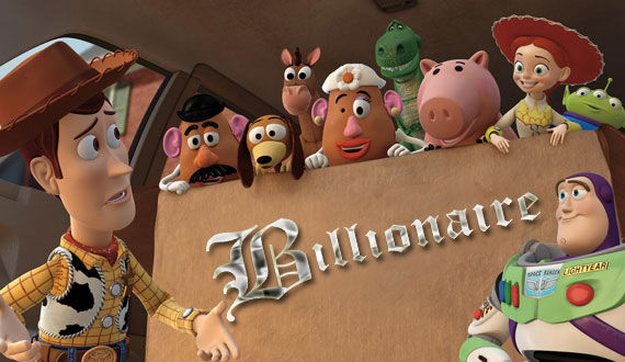 toy story 3 billionaire Toy Story 3 Joins the Elite Billion Dollar Box Office Club