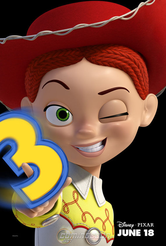 toy story 3 jessie poster Poster Friday: Toy Story 3, New Moon, Pirate Radio & More!