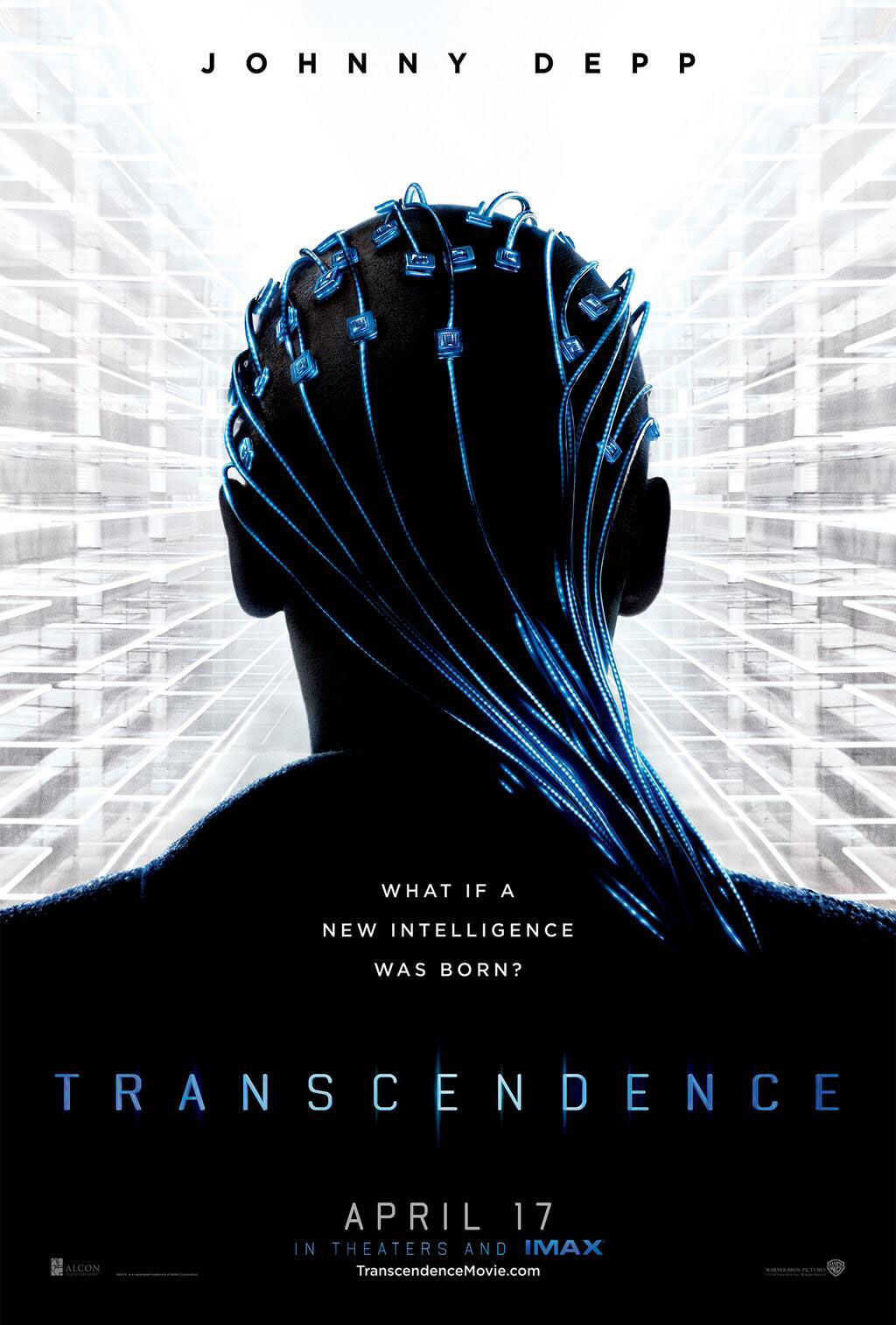 transcendence johnny depp poster Transcendence Poster with Johnny Depp