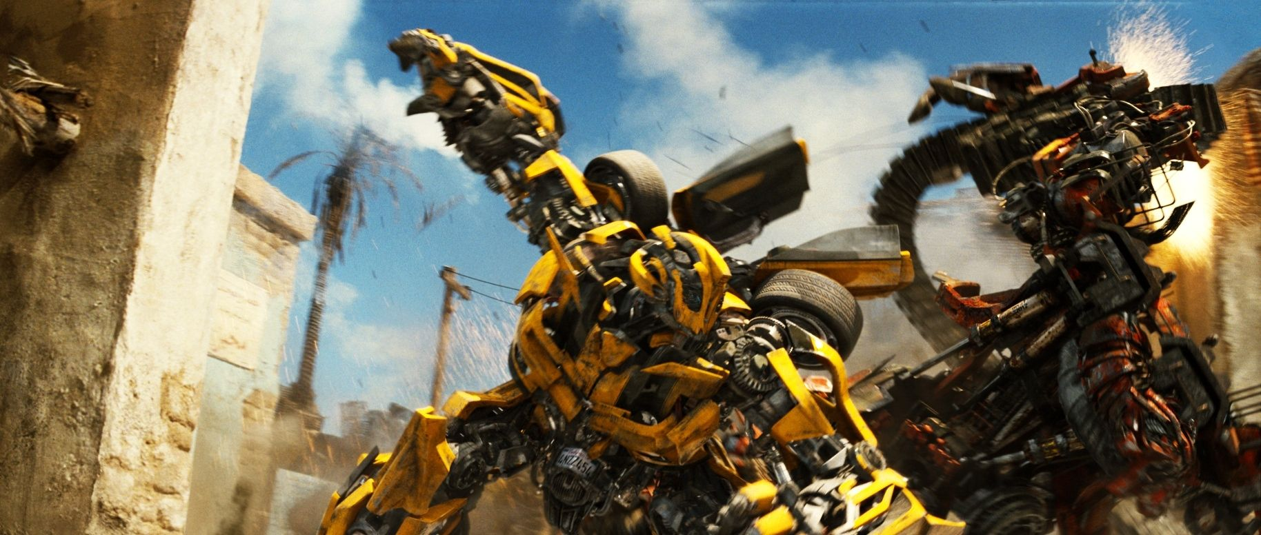transfomres 2 bumblebee fight Revenge of the Fallen May Have Its Revenge...