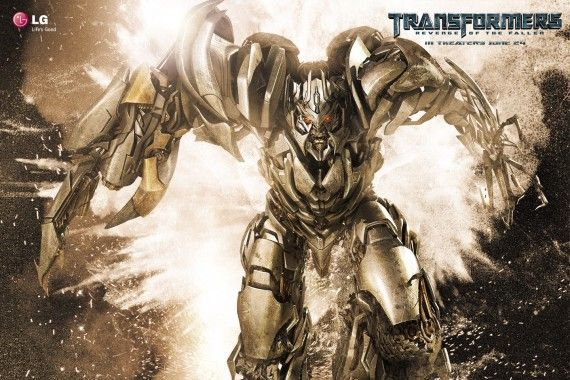transfomres 2 megatron wallpaper 570x380 Transformers 2 Megatron Wallpaper
