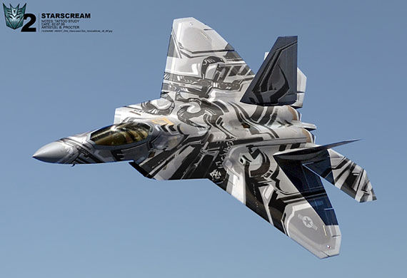 transformers 2 cybertron starscream Sweet Transformers Concept Art
