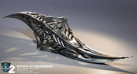 transformers 2 matrix of leadership Sweet Transformers Concept Art