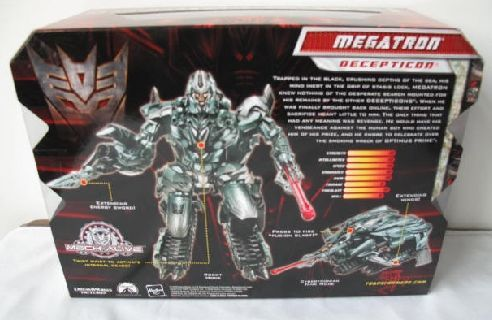 transformers 2 megatron toy Transformers 2: Two and a Half Hours of Megatrons Revenge