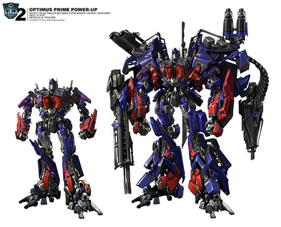 transformers 2 optimus prime jetfire combination Sweet Transformers Concept Art