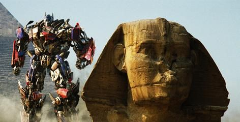 Transformers 2 - Optimus Prime sphinx