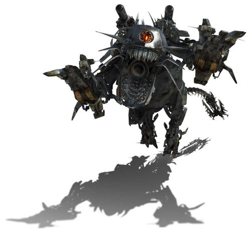 Decepticon Ravage in Transformers 2