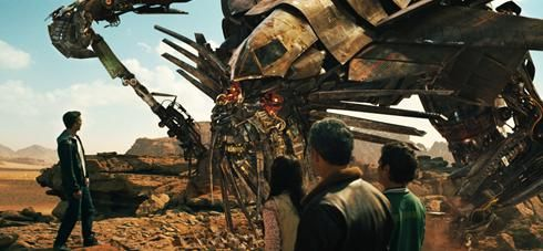 Transformers 2 - Sam Witwicky talks to Jetfire