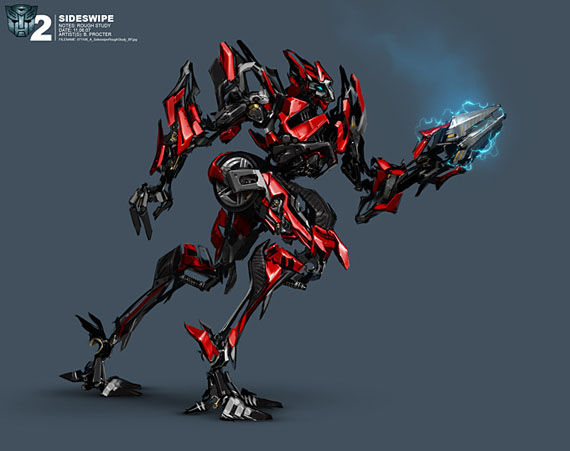 transformers 2 sideswipe1 Sweet Transformers Concept Art