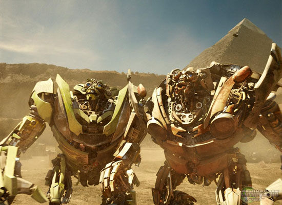transformers 2 the twins mudflap skids Transformers 2: Big Controversy, Big Box Office & Sequel Rumors