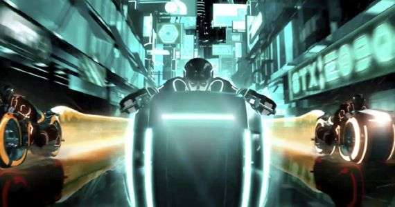 tron uprising comic con trailer TRON: Uprising Comic Con Preview Teases New Grid Technology
