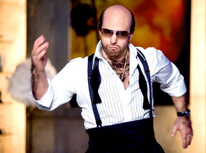 tropic thunder tom cruise Tropic Thunders Les Grossman Advises Twilight Stars
