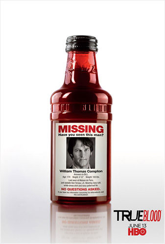 true blood missing bill poster True Blood Season 3: Minisodes, Cast Photo & More
