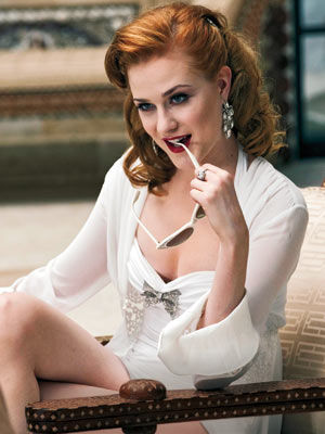 true blood season 2 evan rachel wood queen sophie ann First Look at True Bloods Vampire Queen