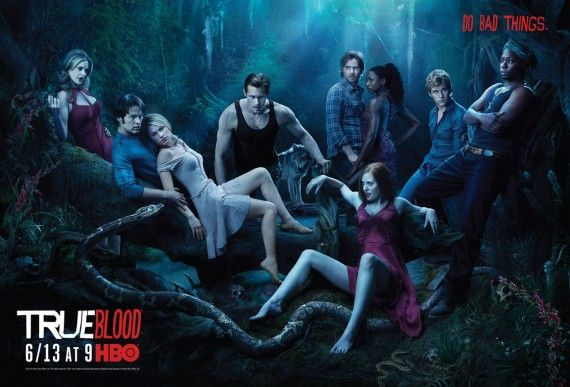 true blood season 3 cast phoo 570x387 True Blood Season 3: Minisodes, Cast Photo & More