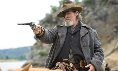 true grit settles for number 2 Cowboys & Aliens Edit Bay Visit With Jon Favreau