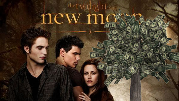 twilight new moon box office record New Moons Record Breaking Opening Day