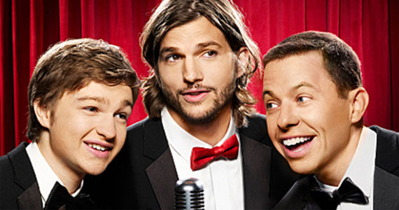 two and a half men ashton kutcher Two And A Half Men Season 9 Premiere Review & Discussion