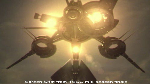 ufo05 scc scene05 California Drones Mystery Solved By Sarah Connor Chronicles?