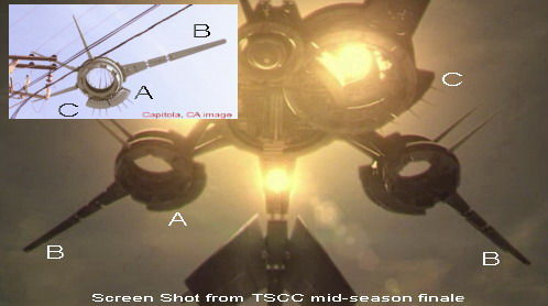 ufo09 drone compare p California Drones Mystery Solved By Sarah Connor Chronicles?
