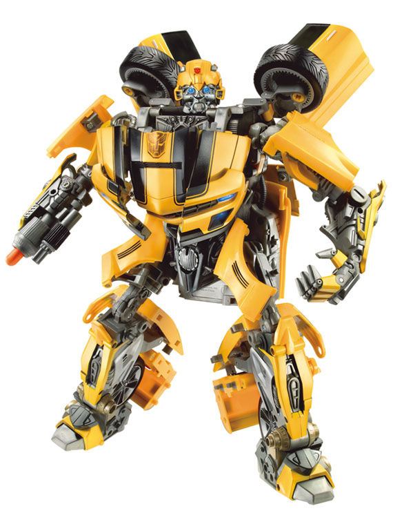 ultiamte bumblebee battle charged  robot  Nearly Every Transformers 2 Robot Revealed!