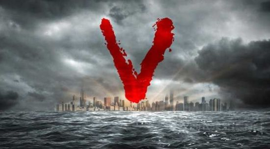 v logo 00 TV Ratings: V Down 27% In Second Week