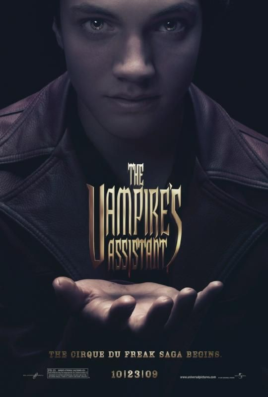 vampireasstposter 4 Cirque Du Freak: The Vampires Assistant Trailer & Poster