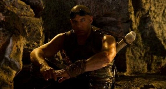 vin diesels riddick 570x307 Movie News Wrap Up: March 3, 2012